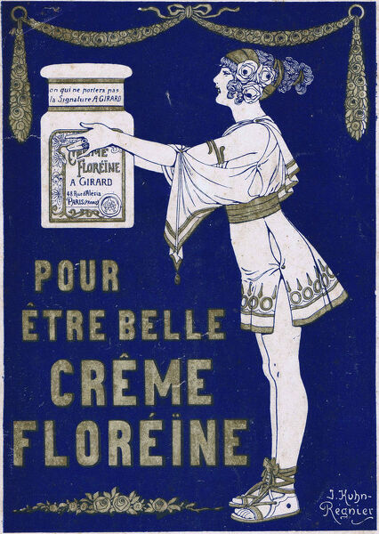 Advert for Crme Floreine, 1920s, France Date: 1920s