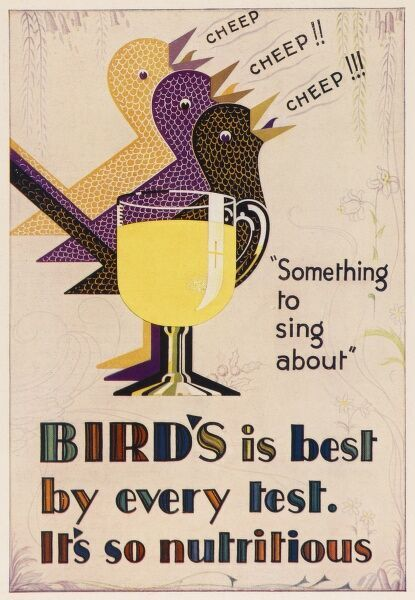 Bird's Custard is the best by every test. It's so nutritious