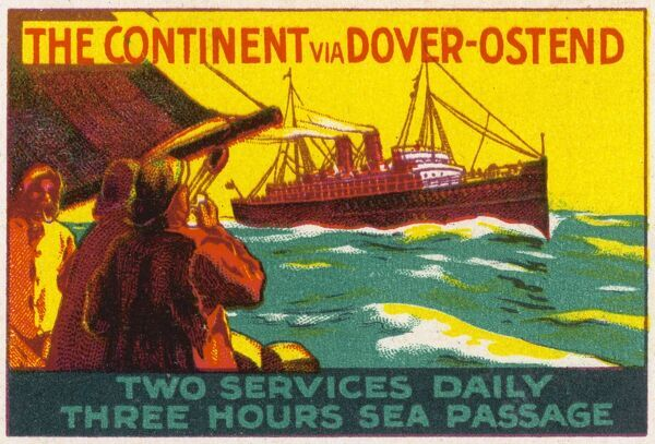 The Continent via Dover and Ostend