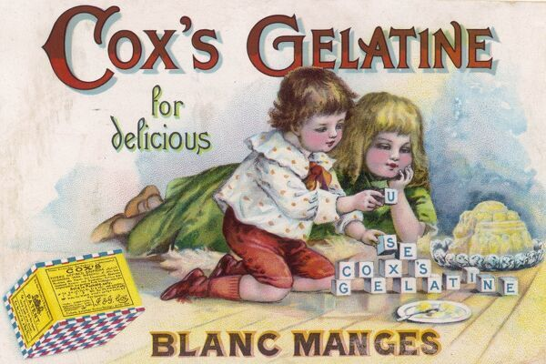 Cox's Gelatine for delicious blancmanges