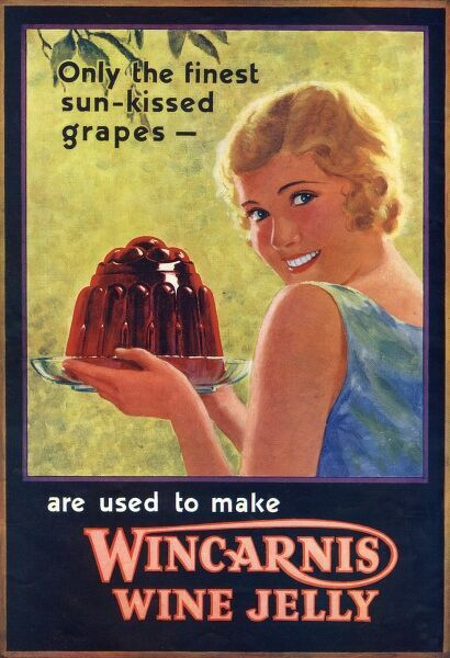 Wincarnis Wine Jelly Date: 1934