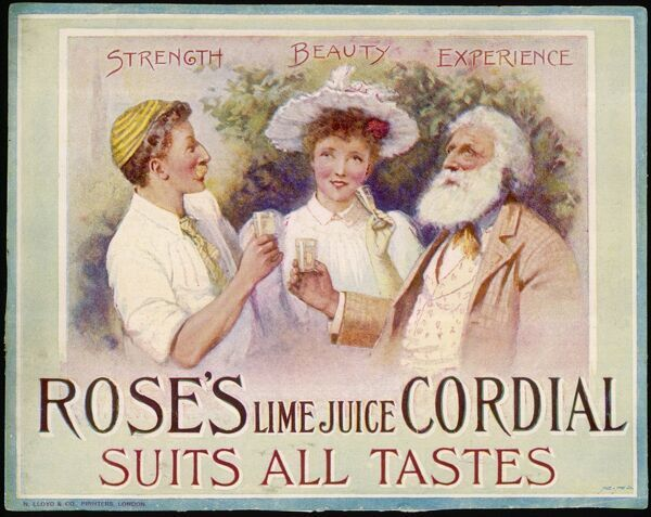 Rose's Lime Juice Cordial suits all tastes - Strength, Beauty, Experience
