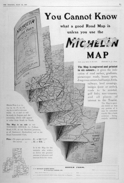 You cannot know what a good road map is unless you use the Michelin Map