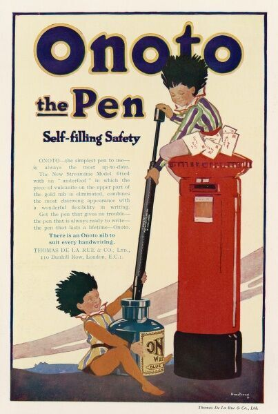 Onoto - the Pen with Self-Filling Safety