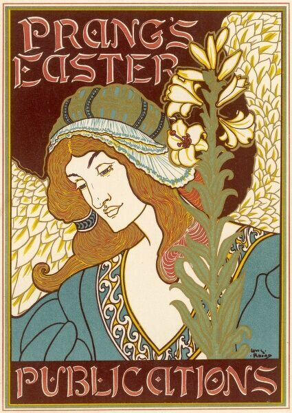 Poster for Prang's Easter Publications, USA