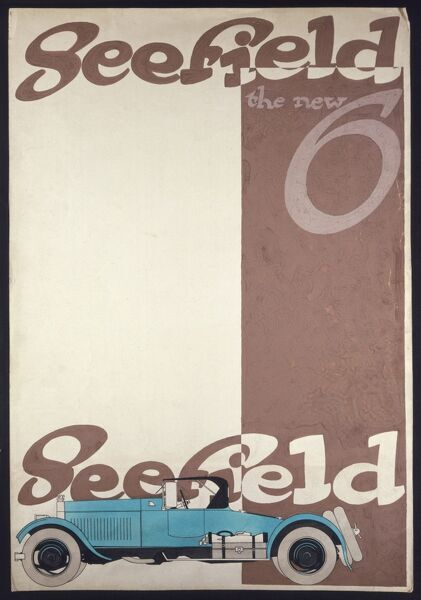 Advertisement for Seefield motor cars