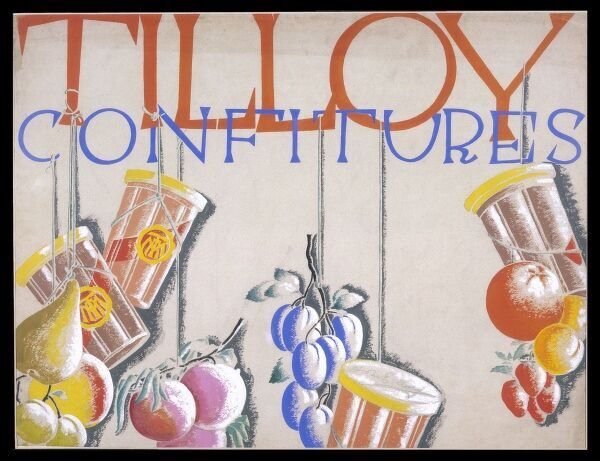 Advertisement for Tilloy jams