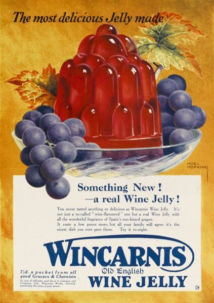 Wincarnis old English Wine Jelly
