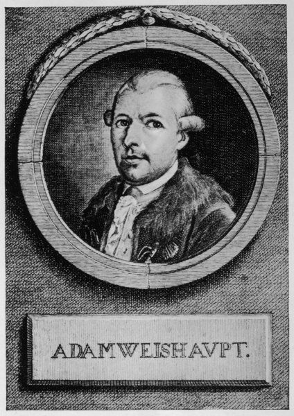 ADAM WEISHAUPT German mystic, philosopher and religious leader