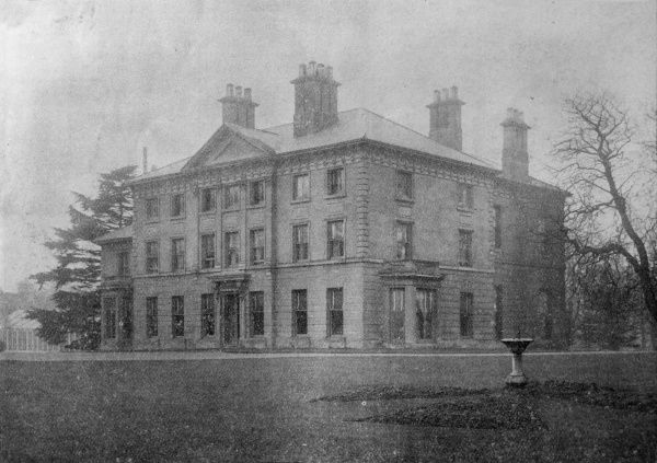 The administrative block (sited in the Old Hall) of the Monyhull Colony, Birmingham