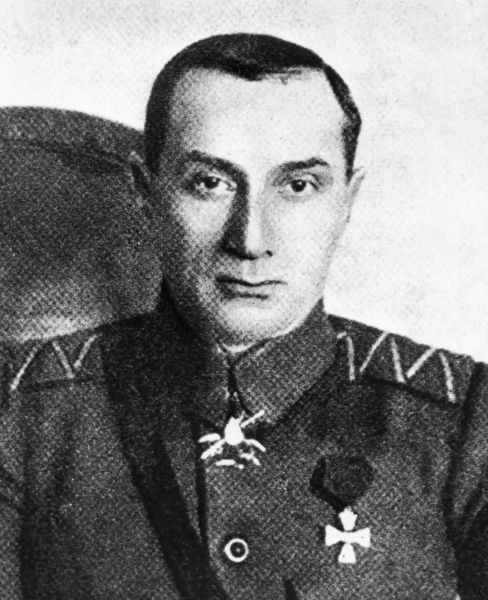 Admiral Aleksandr Vasiliyevich Kolchak (1874-1920), Russian naval commander during the First World War, polar explorer, and leader of the anti-communist White forces during the Russian Civil War. Seen here in uniform, at the time he joined the