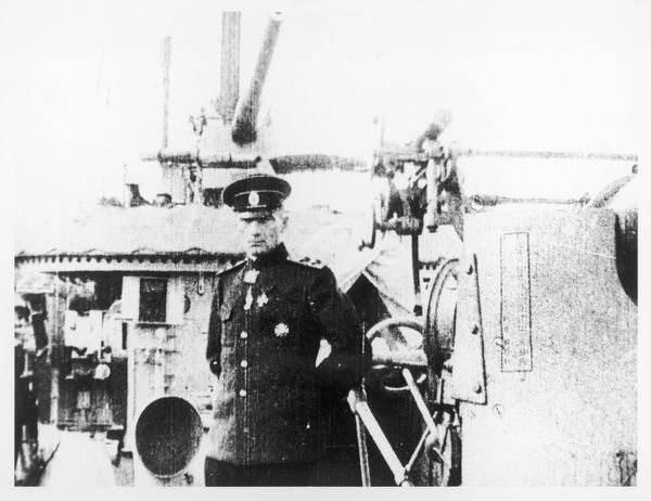 ADMIRAL ALEKSANDR VAILIYEVICH KOLCHAK Served at the Siege of Port Arthur, explored Polar region, 'white' commander, captured and executed by Bolsheviks