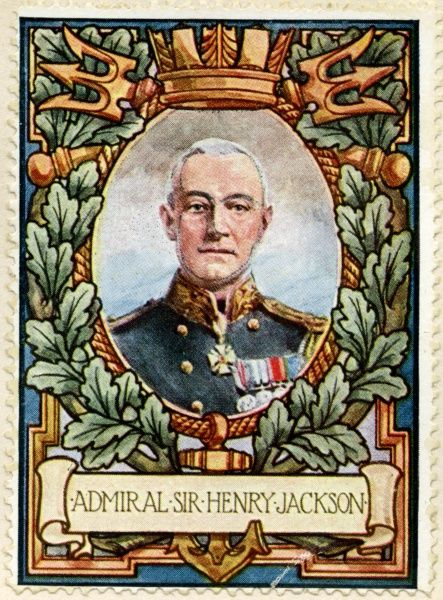 SIR HENRY BRADWARDINE JACKSON Admiral of the Fleet and pioneer of wireless telegraphy