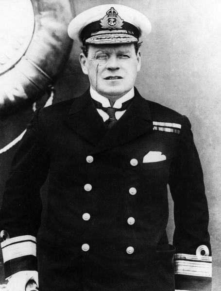 Admiral of the Fleet Sir Rosslyn Erskine Wemyss (1864-1933), appointed First Sea Lord in December 1917. He represented Britain at the Armistice, and attended the Paris Peace Conference in 1919. Date: circa 1914-1918
