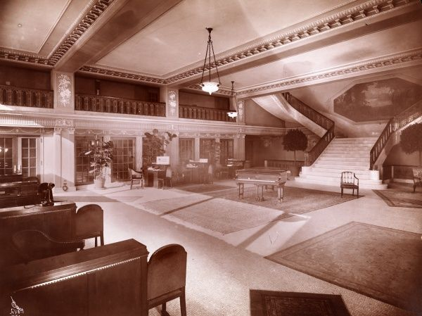 Theatre, Aeolian Hall. Lobby of Aeolian Hall