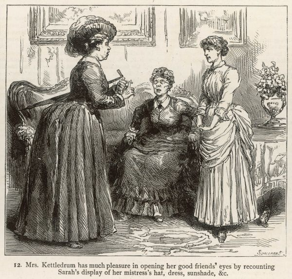 An Englishwoman in Cape Colony, South Africa, finds that the servant problem is even more acute here than home in England ! 12 of 15