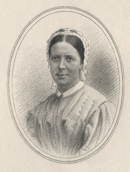 Agnes Elizabeth Jones (1832-1868) was trained at Florence Nightingale's nursing school at St Thomas' Hospital in London. In 1865 she was appointed to superintend an experimental nursing scheme at Liverpool's huge workhouse infirmary