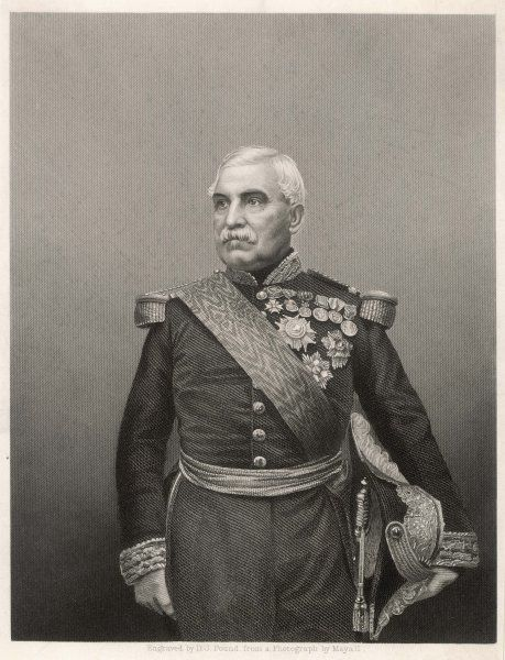 Aimable Jean Jacques PELISSIER, duc de Malakoff French mlitary commander and diplomat