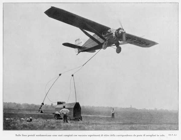 An American airmail project
