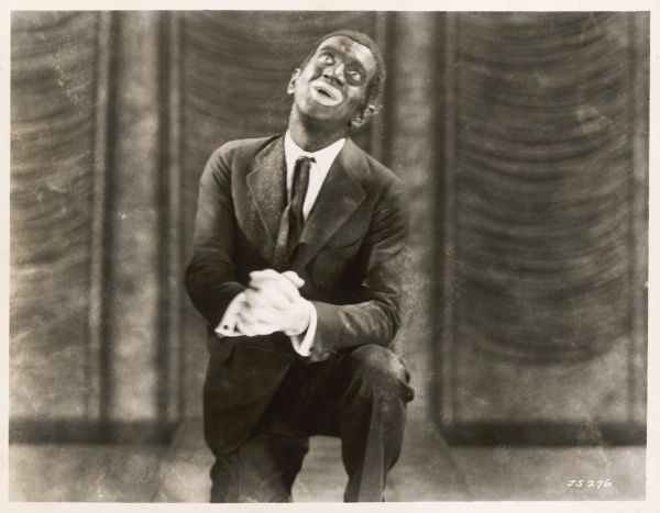 AL JOLSON in 'The Jazz Singer&#39