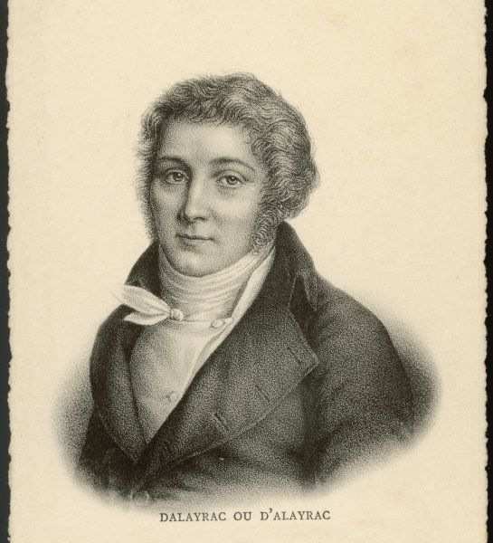 NICOLAS-MARIE D'ALAYRAC French composer