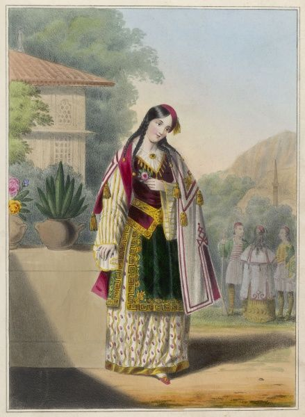 An Albanian lady of rank