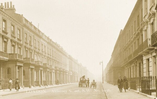 Alderney Street, Pimlico, London