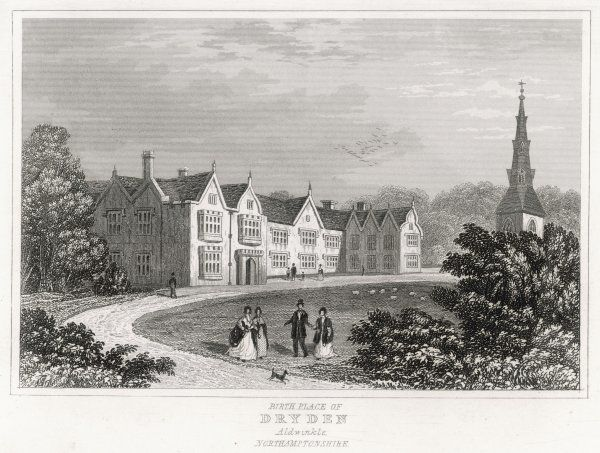Aldwinkle, Northamptonshire, the birthplace of the poet John Dryden