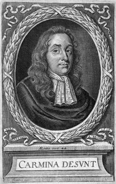 ALEXANDER BROME Attorney and poet, aged 44. Date: 1620 - 1666