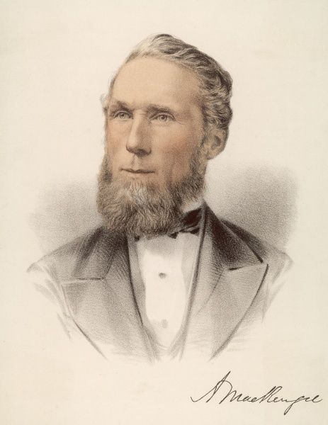 ALEXANDER MACKENZIE Canadian statesman and Prime Minister of Canada from 1873- 1878