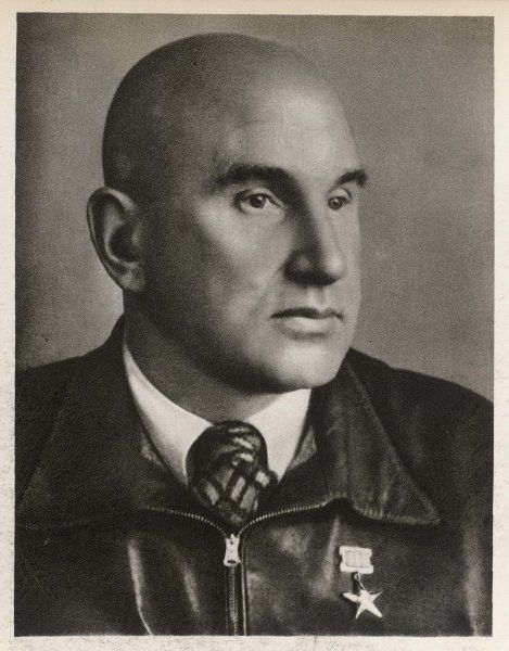 ALEXANDER MIKULIN Russian engineer, noted for his design of aicraft engines