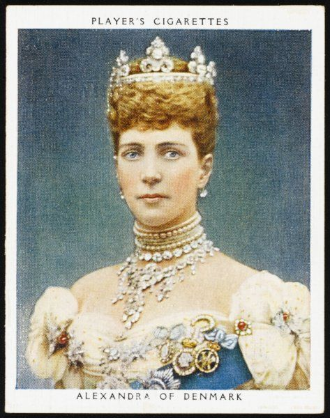 ALEXANDRA QUEEN TO EDWARD VII Seen here in her coronation dress