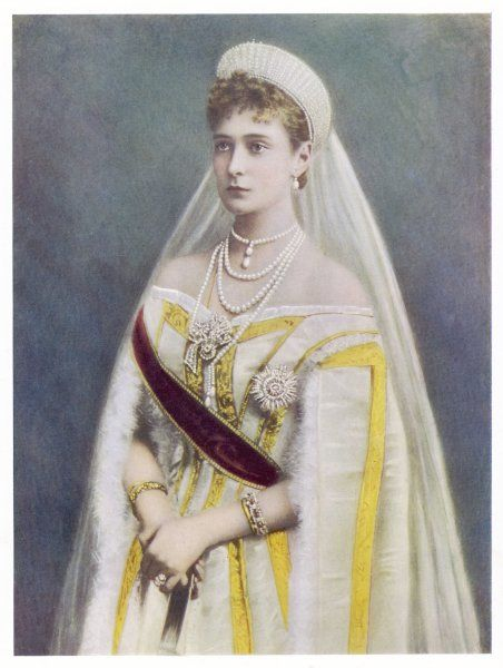 ALEKSANDRA FYODOROVNA Empress of Russia, wife of Tsar Nicolas II