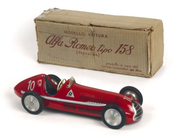 One of the most successful racing cars ever produced, taking 47 wins from 54 races entered. Driven by great drivers Nino Farina, Juan- Manuel Fangio & Luigi Fagioli