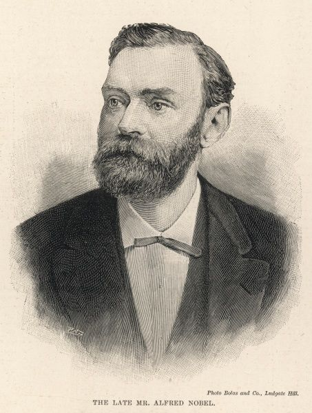 ALFRED NOBEL Swedish scientist, inventor, businessman and founder of the Nobel prize