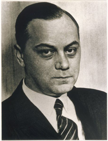 ALFRED ROSENBERG Leading proponent of National Socialist ideology. In 1941 he was appointed Minister for the Eastern Occupied Territories