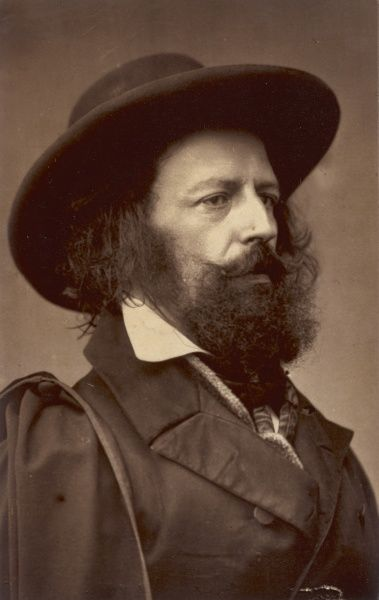 ALFRED, lord TENNYSON writer, Poet Laureate
