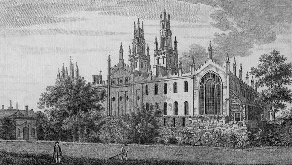 All Souls' College, Oxford Date: circa 1800