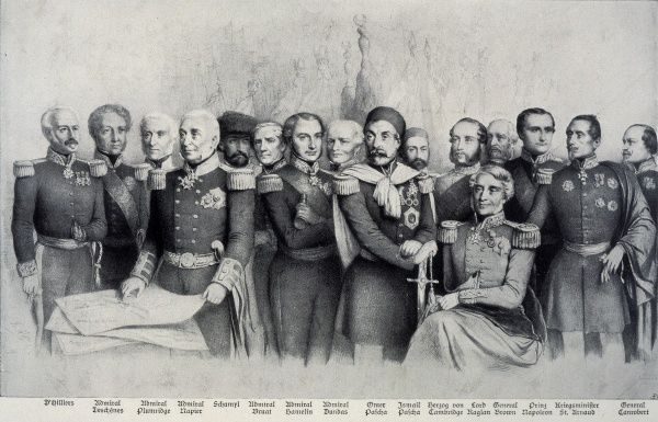 The Allied commanders