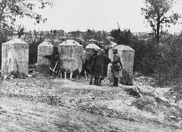 Allies General Offensive at Montfaucon during World War I