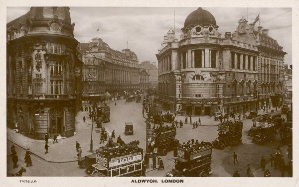 Aldwych, with the Gaiety Theatre