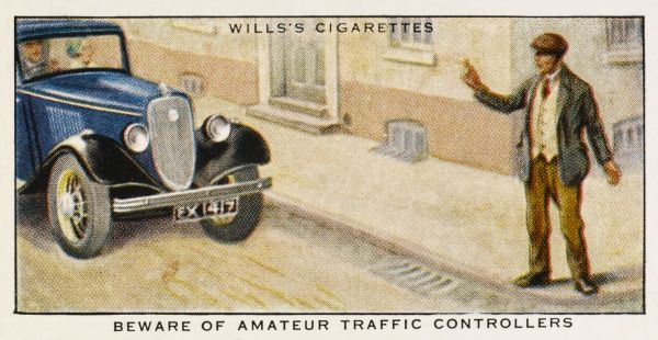 'Beware of amateur traffic controllers... they are seldom competent to act in an emergency.&#39