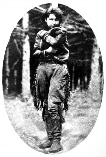 Anahareo was the wife of Grey Owl, who became well known as a conservationist in an area of Canada where he had once been a fur trader and trapper