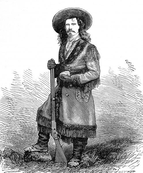 Portrait of Jack Crawford in tasselled coat and boots