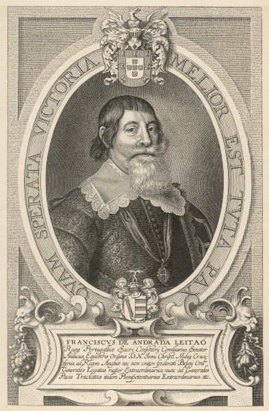 FRANCISCO ANDRADA LEITAO Portuguese statesman, diplomat in England and the Netherlands