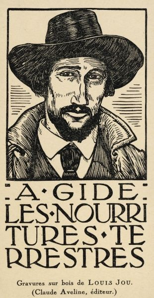 ANDRE GIDE French writer