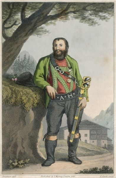ANDREAS HOFER Tyrolese patriot. Led rebellion against the Bavarian government of the Tyrol