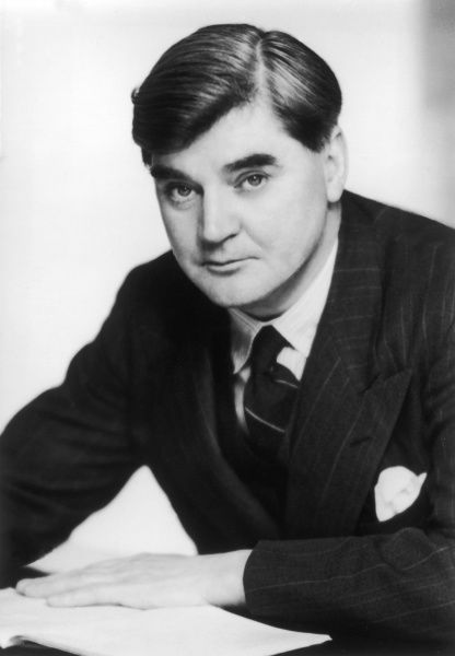 Aneurin Bevan, also known as Nye Bevan (1897 - 1960), Welsh Labour politician. Minister of Health in the mid-20th century, responsible for the creation of the National Health Service