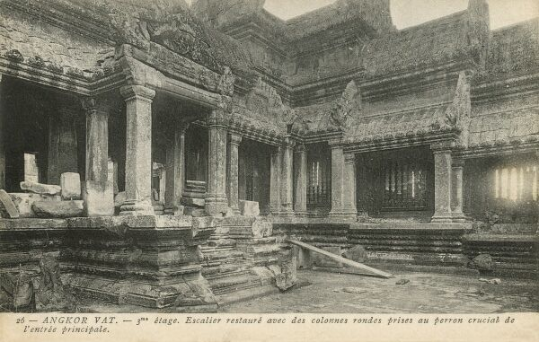 Temple of Angkor Wat - Cambodia - the third level