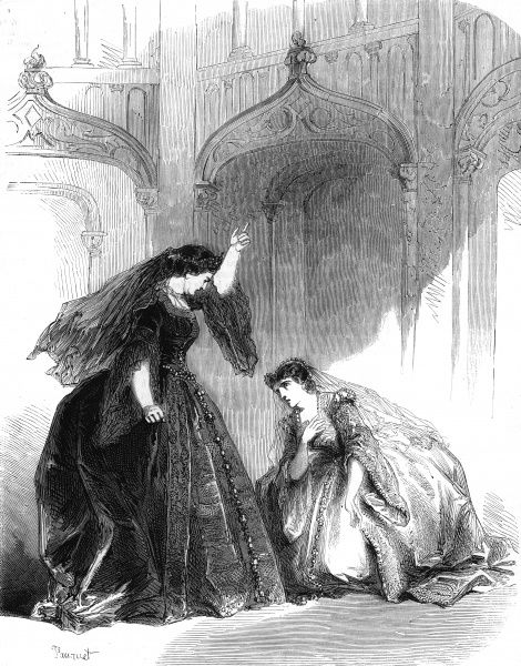 Anna Bolena by Gaetano Donizetti, performed at the Italian Opera, Paris. A dramatic episode from Act 2, Scene 3 Date: first performed 1820